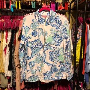 VGUC Lilly Pulitzer Barefoot Princess popover
